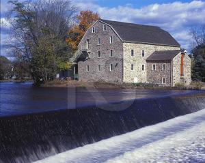 Old Stone Mill, Hunterdon Art Museum © Ronald C Saari